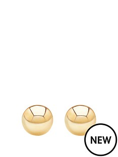 andralok-9-carat-yellow-gold-5mm-ball-stud-earrings