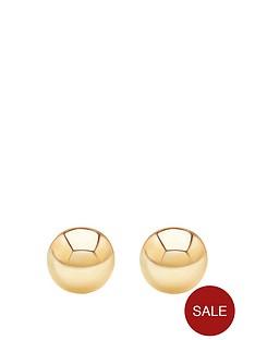 andralok-9-carat-yellow-gold-5mm-ball-stud-earrings