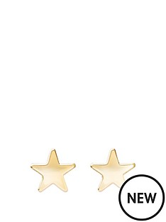 andralok-9-carat-yellow-gold-small-5-pointed-star-earrings