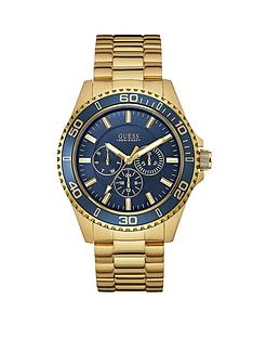 guess-chaser-blue-multi-dial-gold-plated-stainless-steel-bracelet-mens-watch
