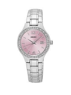 seiko-pink-dial-quartz-stainless-steel-bracelet-ladies-watch