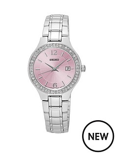 seiko-pink-dial-quartz-stainless-steel-bracelet-ladies-watch
