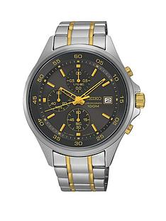 seiko-grey-dial-quartz-chronograph-stainless-steel-bracelet-mens-watch
