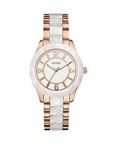 guess-goddess-rose-gold-and-pearl-ladies-watch