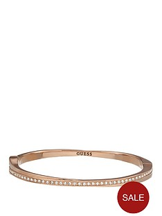 guess-crystal-eternity-rose-gold-tone-bangle