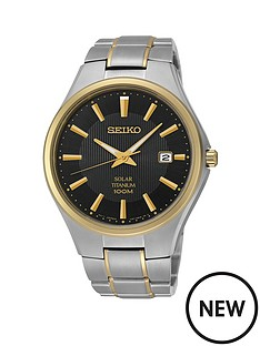 seiko-black-dial-solar-titanium-bracelet-mens-watch
