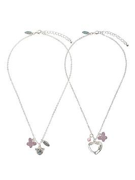 Me To You Mum And Daughter Set of Two Crystal Set Pendants