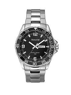 accurist-black-dial-stainless-steel-bracelet-mens-watch
