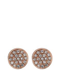 love-diamond-9-carat-gold-7-point-pave-diamond-disc-earrings