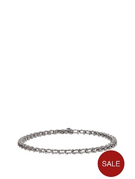 love-diamond-sterling-silver-9-point-diamond-tennis-bracelet