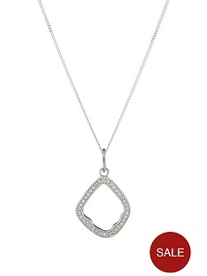 the-love-silver-collection-sterling-silver-rhodium-plated-cubic-zirconia-pendant