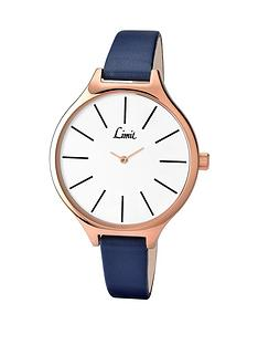 limit-white-gold-plated-strap-ladies-watch