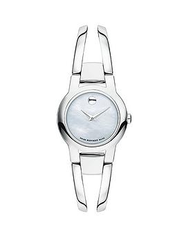 movado-swiss-amorosa-stainless-steel-white-mother-of-pearl-dial-ladies-watch