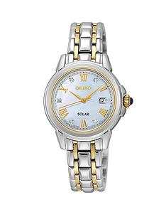 seiko-mother-of-pearl-diamond-dial-solar-powered-two-tone-stainless-steel-bracelet-ladies-watch