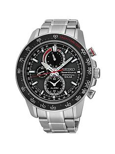 seiko-black-dial-sportura-solar-perpetual-stainless-steel-bracelet-mens-watch