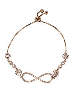 the-love-silver-collection-rose-gold-plated-sterling-silver-crystal-set-infinity-slider-bracelet