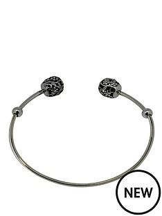 link-up-link-up-sterling-silver-charm-carrier-torque-bangle