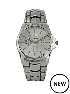 thomas-calvi-silver-tone-bracelet-mens-watch