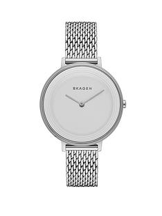 skagen-ditte-stainless-steel-mesh-strap-ladies-watch