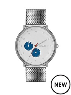 skagen-hald-blue-highlights-stainless-steel-mesh-mens-watch