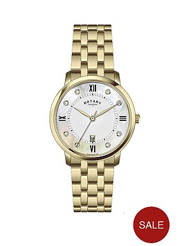 rotary-crystal-set-mother-of-pearl-dial-gold-plated-stainless-steel-bracelet-ladies-watch