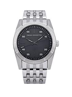 french-connection-black-dial-stainless-steel-bracelet-mens-watch