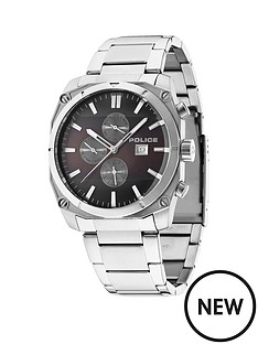 police-milano-stainless-steel-bracelet-mens-watch