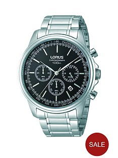 lorus-chronograph-black-dial-stainless-steel-bracelet-mens-watch