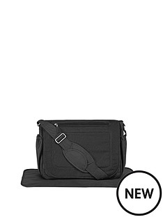 mothercare-satchel-changing-bag-black