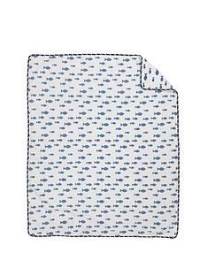 mothercare-whale-bay-fleece-blanket