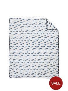 mothercare-whale-bay-fleece-blanket