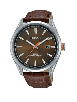 pulsar-brown-dial-with-orange-accents-brown-leather-strap-mens-watch