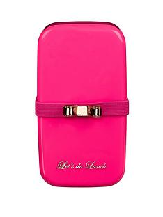 ted-baker-small-fluro-pink-bento-lunch-box