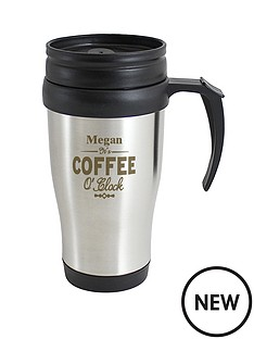 personalised-coffee-oclock-travel-mug