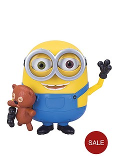 minions-talking-minions-bob-action-figure-with-teddy-bear