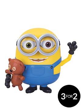minions-talking-minions-bob-action-figure-with-teddy-bear