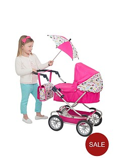 mamas-papas-xcel-dolls-pram-bird