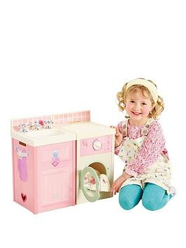 dream-town-rose-petal-kitchen-set