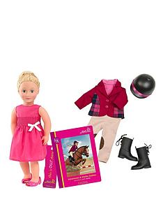 our-generation-lily-anna-doll-with-book