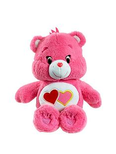 care-bears-medium-plush-with-dvd-love-a-lot-bear