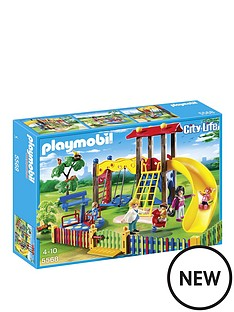 playmobil-city-life-childrens-playground-5568