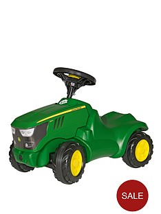 rolly-toys-john-deere-6150r-mini-tractor-with-opening-bonnet