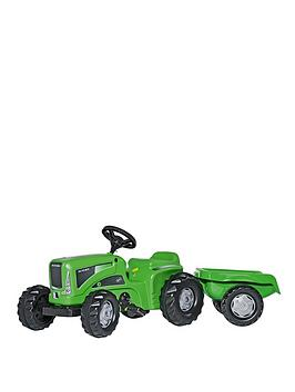 rolly-toys-rolly-kiddy-futura-tractor-with-rolly-kid-trailer