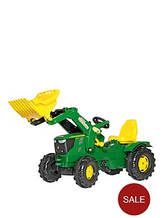 rolly-toys-john-deere-6210r-tractor-with-frontloader