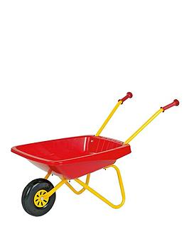Rolly Toys Metal and Plastic Wheelbarrow  RedYellow