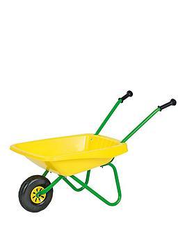 rolly-toys-metal-and-plastic-wheel-barrow-yellowgreen