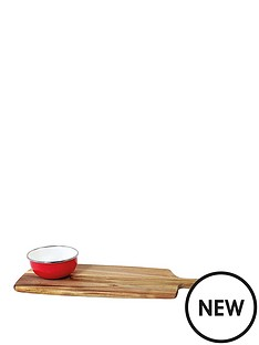 jamie-oliver-serving-board-with-enamel-dish