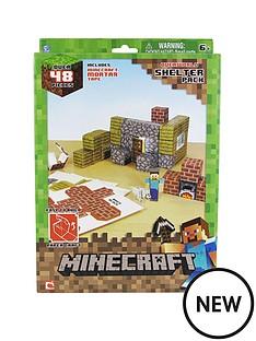 minecraft-papercraft-over-48-piece-shelter