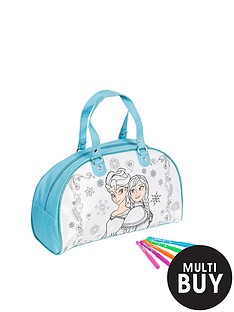 disney-frozen-colour-your-own-weekender-bag