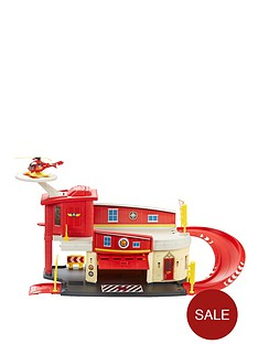 fireman-sam-die-cast-firestation-play-set
